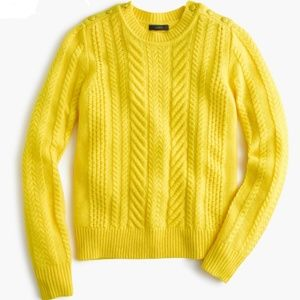 J. Crew | Cable Knit Sweater